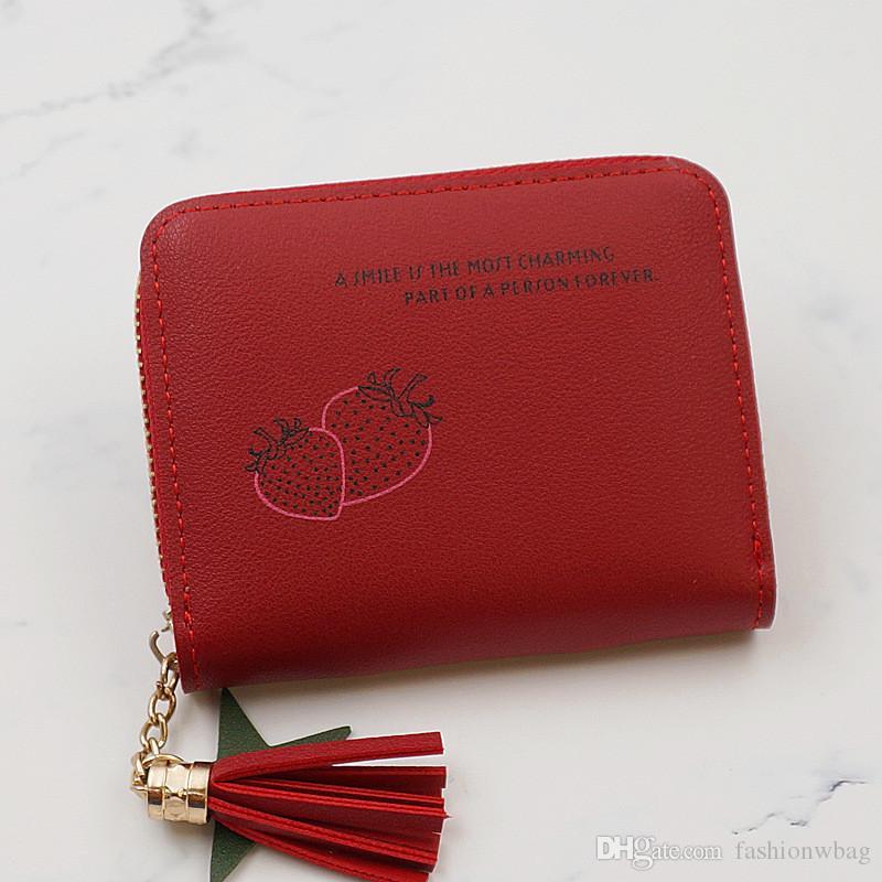 Новый небольшой кошелек женский короткий многофункциональный корейской версии бумажник два раза небольшой мини портмоне