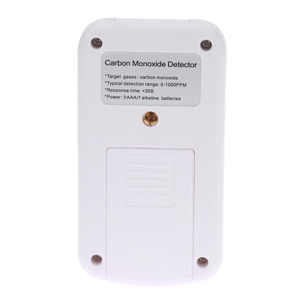 Handheld Portable Mini CO Gas Analyzer Digital Carbon Monoxide Detector High Accuracy Sound Light Alarm Leak Meter