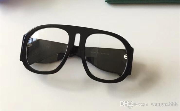 0152 ثانية النظارات الشمسية إطار كبير أنيقة نظارات خاصة شعبية إطار بيضاوي مدمج عدسة دائرية أعلى جودة تأتي مع حالة الأزياء 0152