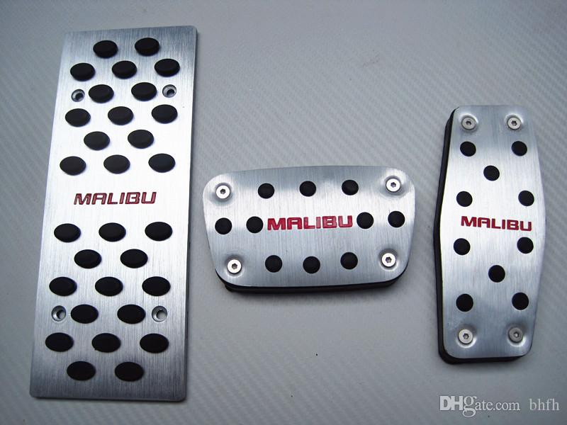Valve brake pedal free perforation and anti-skid modification of decorative footboard without lossless installation for Chevrolet MALIBU