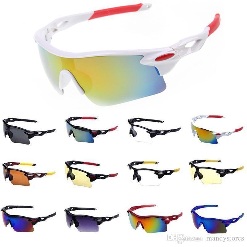 Sport Sonnenbrille für Männer Frauen Winddicht UV400 Radfahren Laufen Fahren Angeln Golf Baseball Softball Wandern Brillen