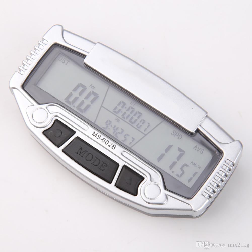 Retroilluminato LCD digitale Cronometro per bicicletta per bicicletta tachimetro per bicicletta