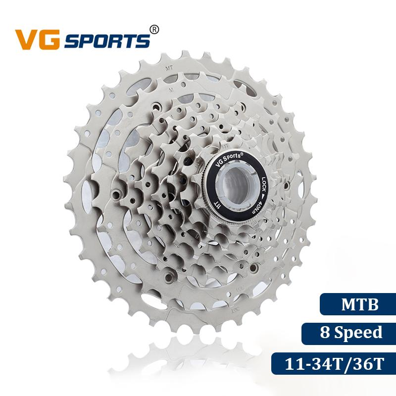 VG Sports 8 Speed Bike Freewheel Gear 11-34T MTB Sprocket Mountain Outdoor cycle