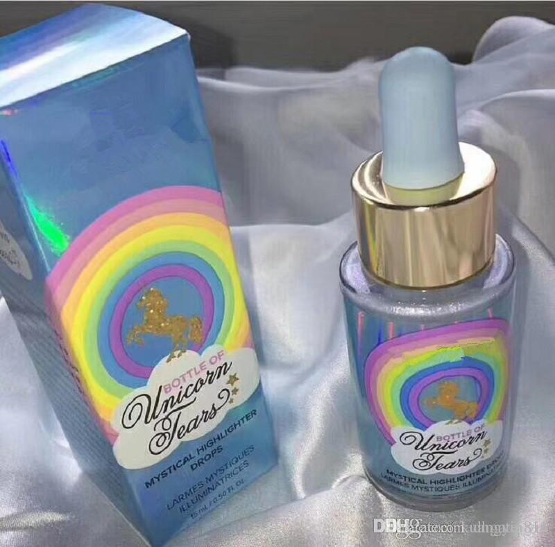 Hot Sale Faced Unicorn Tears Bottle Of Mystical Highlighter Drops 6 Colors Professional Bronzers & High lighters