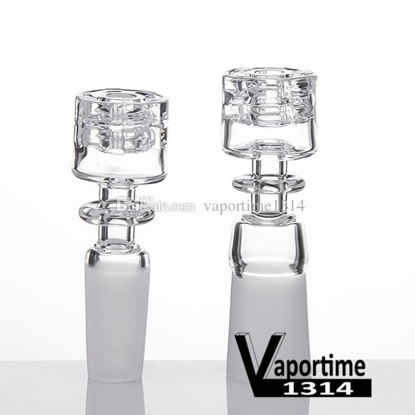 Quarz Diamant Knoten Nagel Schüssel 10mm 18mm 14mm Männlich Weiblich Elegantes Design Keine Carb Cap Geschenk Club Dad Rig 409