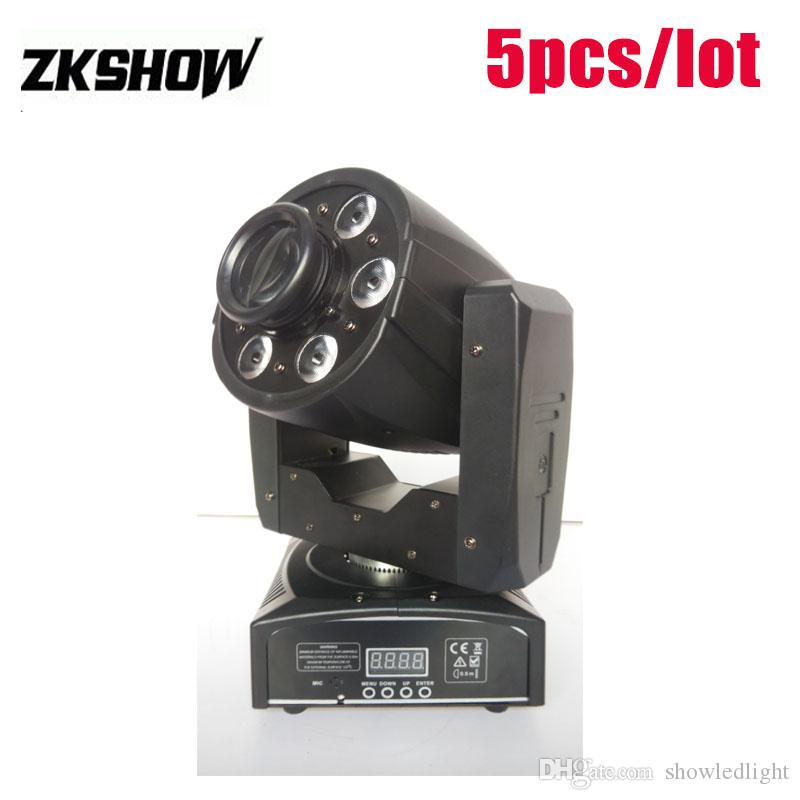 Kafa Yakınlaştırma Yıkama Nokta 1 * 30W DMX512 DJ Disco Parti Düğün Sahne Efekt Aydınlatma Projektör Ücretsiz Kargo Hareketli% 80 İndirim 95W Mini Gobo LED