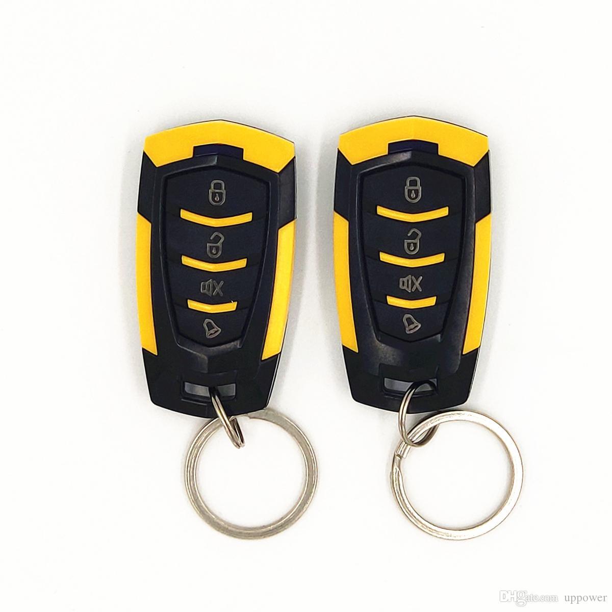 CarBest L218car alarm 3-Channel 1-Way Car Alarm Vehicle Security Keyless Entry System