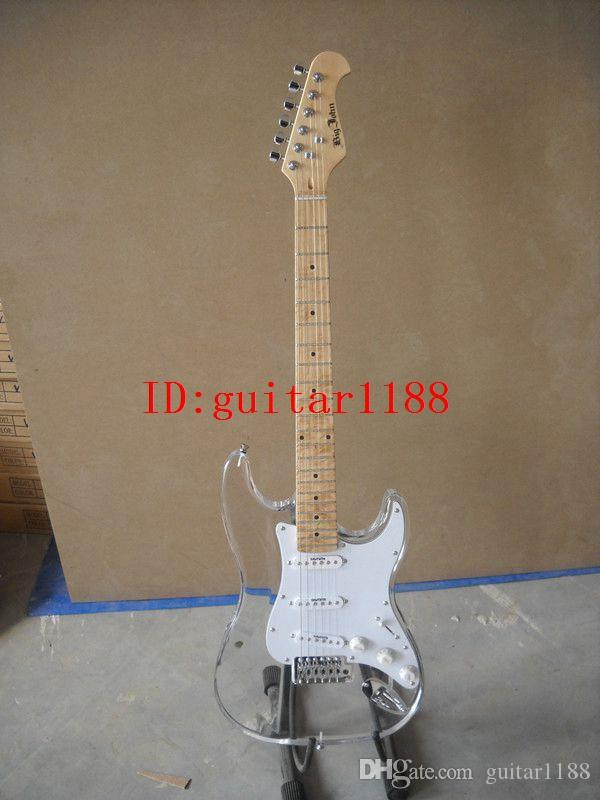 new Big John single wave electric guitar with organic glass body made in China free shipping JY-4