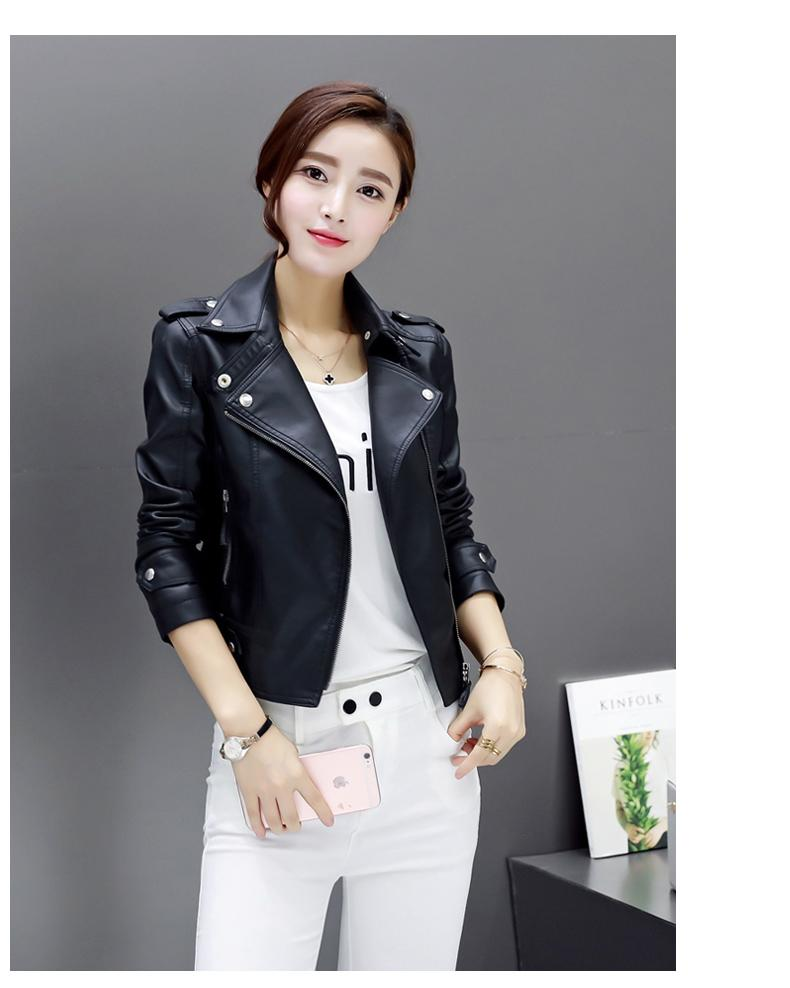 Von Washed Weiblich Soft PU Jacke Damen Großhandel Slim 03 Leder PIMKIE Leather Large Schwarz Pimkie Lederjacke Mortimer224 Motorradjacke Single deBQrWECxo