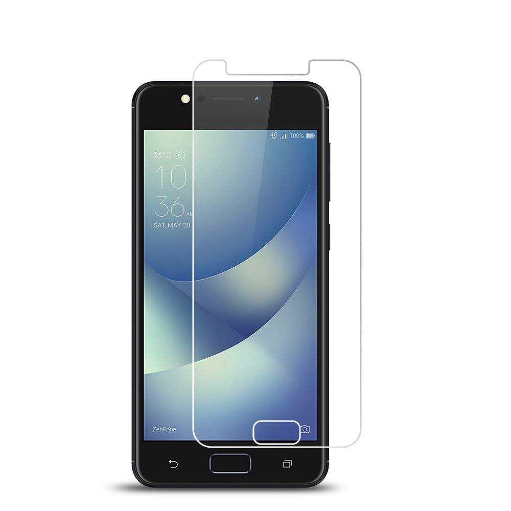 "ASUS ZenFone 4 Max (5.2"" ZC520KL) Tempered Glass Screen Protectors Anti-Bubble Anti-Scratch Anti-Fingerprint Film For iPhone X XS XR XS"