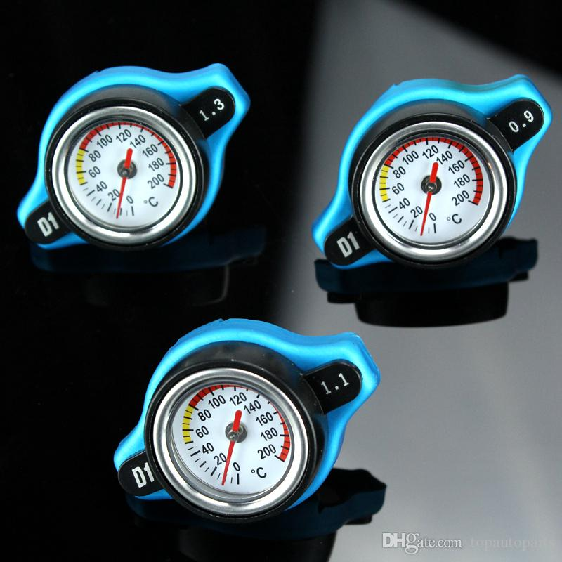 Free Shipping D1 Spec RACING BAR Thermostatic Radiator Cap COVER + Water Temp gauge Cover For TOYOTA,MITSUBISHI,LEXUS