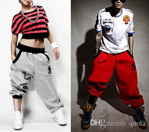 Hombre para mujer Pantalones pantalones Casual Harem Harem Hip Hop Dance Sweat Pants Fashion Design