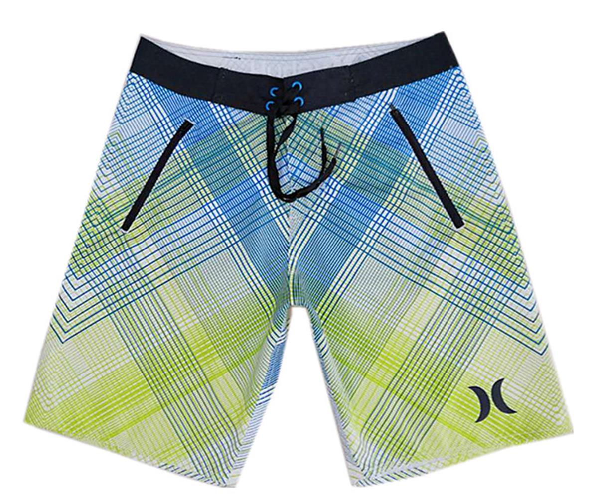 High Quality Polyester Fabric Bermudas Shorts Men's Board Shorts Beachshorts Quick Dry Surf Pants Loose Swimwear Swim Trunks Swimming Trunks