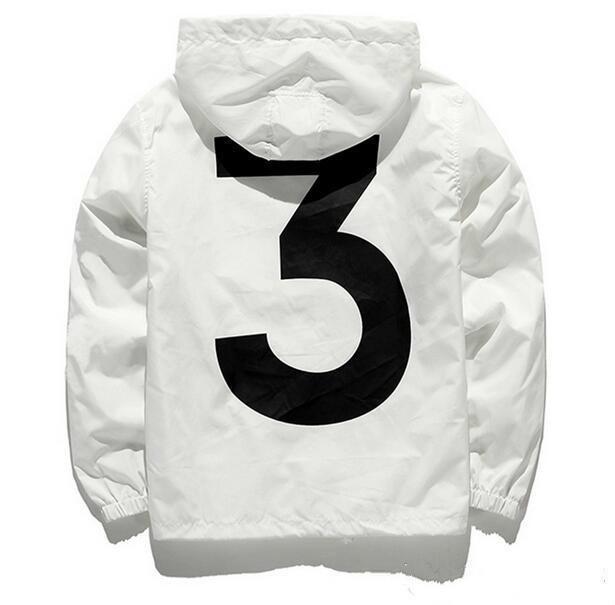 2018 Nuevo anorak sunscreen jacket rompevientos streetwear hip hop kanye west rompehielos jaqueta marca masculina ropa negro