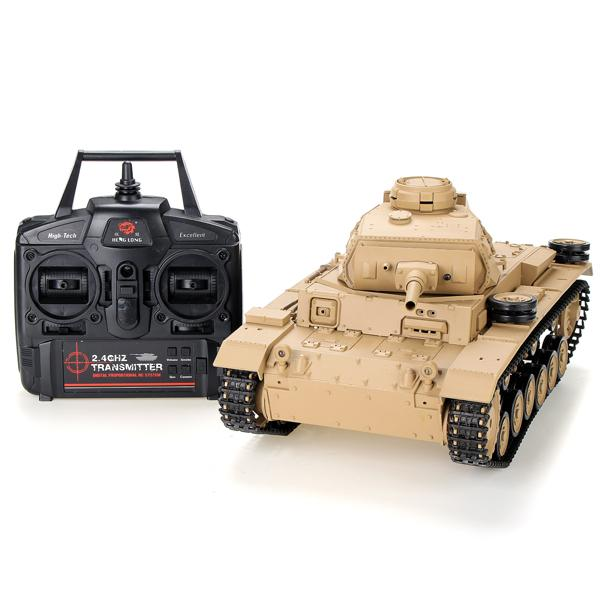 Heng Long 1/16 2 4G 3849 1 Tauch Panzer III Ausf H RC Battle Tank Fast Rc  Cars For Sale Remote Control Helicopter Car From Benedicty, $202 81|