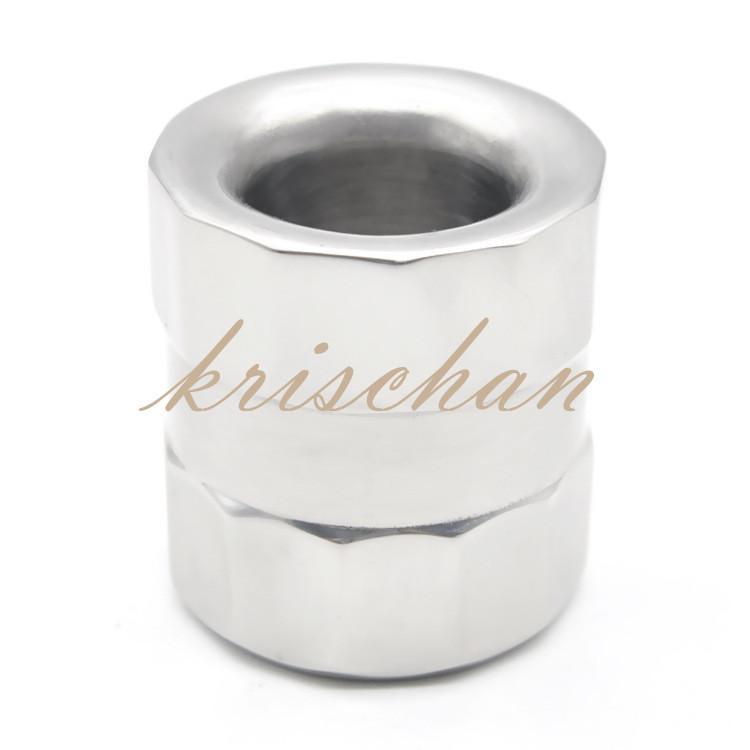 Металлический петух кольца из нержавеющей стали тяжелый кулон пенис вес cbt игрушки Cockring Ballstretcher целомудрие секс-игрушки для мужчин пенис кольцо