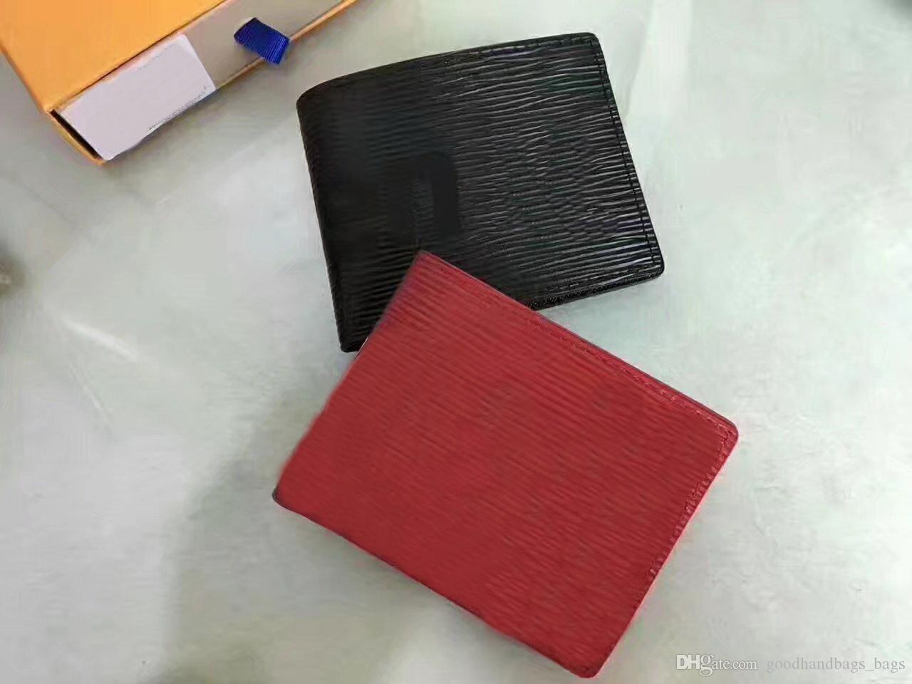 2018 MEW haute qualité Mens Wallet Livraison gratuite en cuir pour hommes avec Portefeuilles pour les hommes Porte-Monnaie Portefeuille hommes Portefeuille avec sac à poussière boîte # 6654