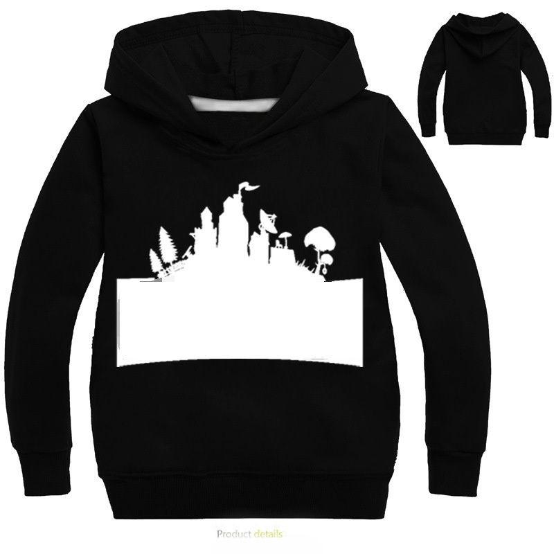 Fortnight Kids Hoodies Sweatshirt Casual Long Sleeve Outwear Hip Hop Shirt Pullover Tops 3-14T Boys Girls Clothes Y1892907