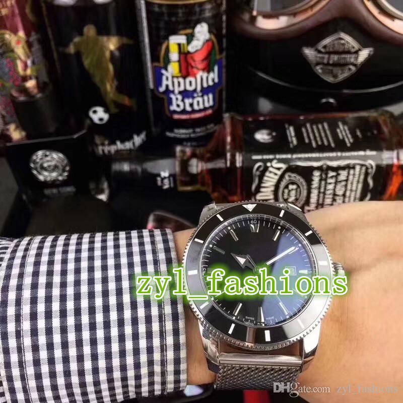 Boutique Zegarek męski 43mm Światowy Znany Marka Silver Zegarek Ze Stali Nierdzewnej Automatyczne Mechaniczne Wodoodporne Zegarek Sportowy