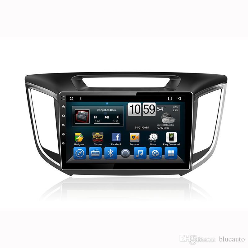 2Din Central Multimedia For Hyundai Hyundai IX25 Creta Auto Radio car dvd player Electronic Bluetooth Audio Receiver With Rear Camera