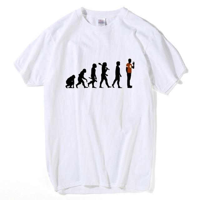 HanHent The Big Bang Theorie T-shirts Männer Lustige Baumwolle Kurzarm Oansatz T-shirts Mode Sommer Stil Fitness Marke T shirts