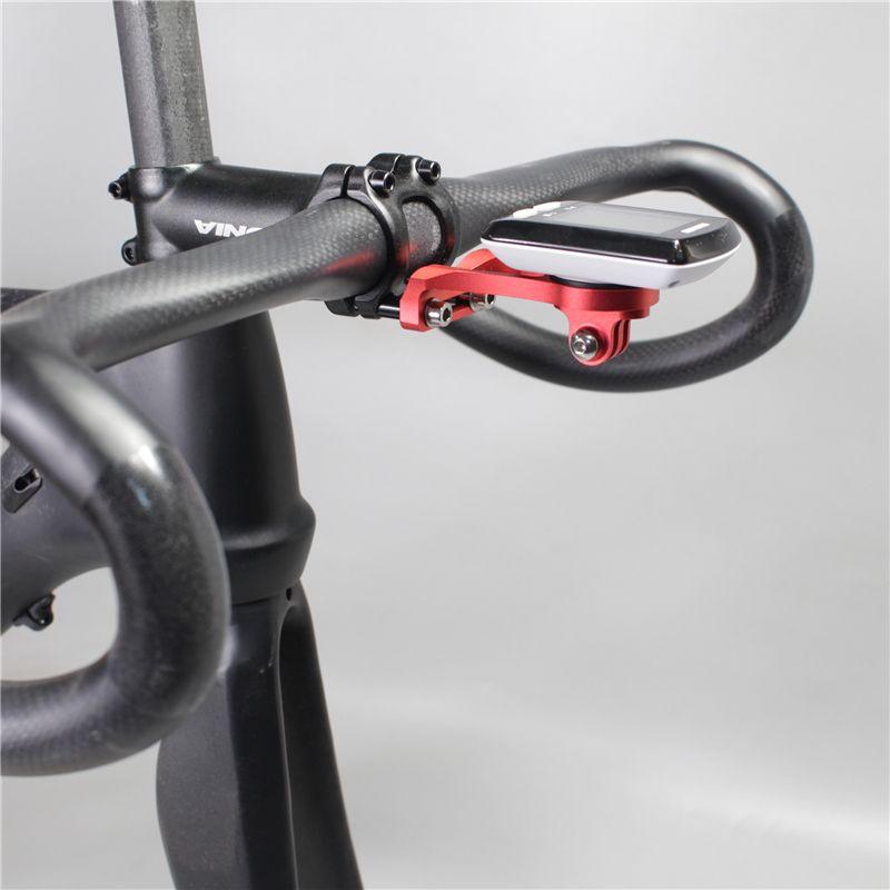 Computadora para Bicicleta Soporte para Manillar Veloc/íMetro Iluminaci/óN Linterna C/áMara Deportiva Compatible con Garmin Cateye Bryton Y Otras Computadoras para Bicicleta