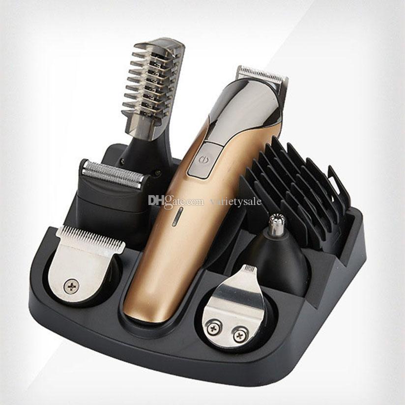 Professionelle chjpro elektronische haarschneideranzug nk-1711 hair clipper multifunktions 7 in 1 haarpflegewerkzeuge 1 stück
