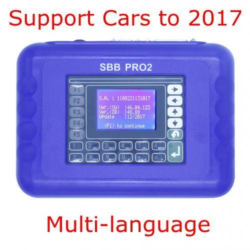 2018 Nuovo arrivo V48.88 SBB Pro2 programmatore chiave di supporto Auto al 2017 Sostituire FFS 46.02 Multi-Language FFS chiave strumento di alta qualità