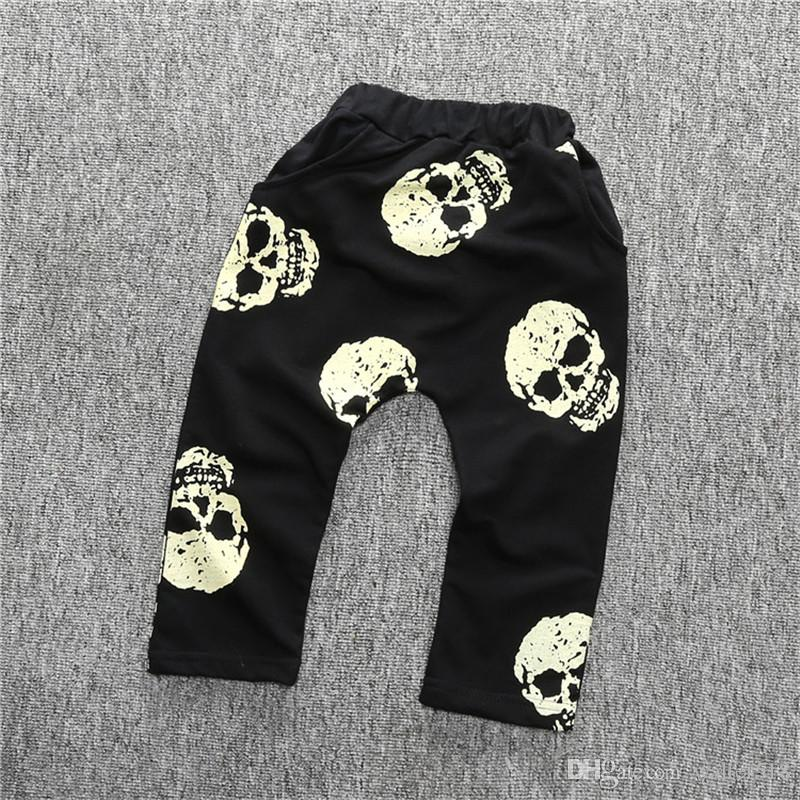 Baby Boy Girl Printed Harem Pants Casual Loose Trousers Leggings Bottoms Clothes