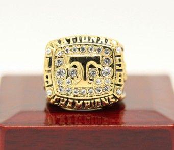 Mais recente moda masculina sports jóias 1998 Tennessee Volun teers campeonato anel de hóquei no gelo fã sports collection lembrança presente