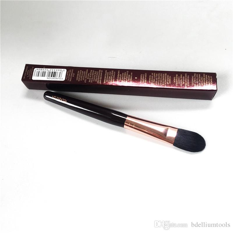 Charlotte_T Foundation Brush - Escova sintética Dense Synthetic Liquid Cream Corretivo - Beauty Makeup Blender Tool