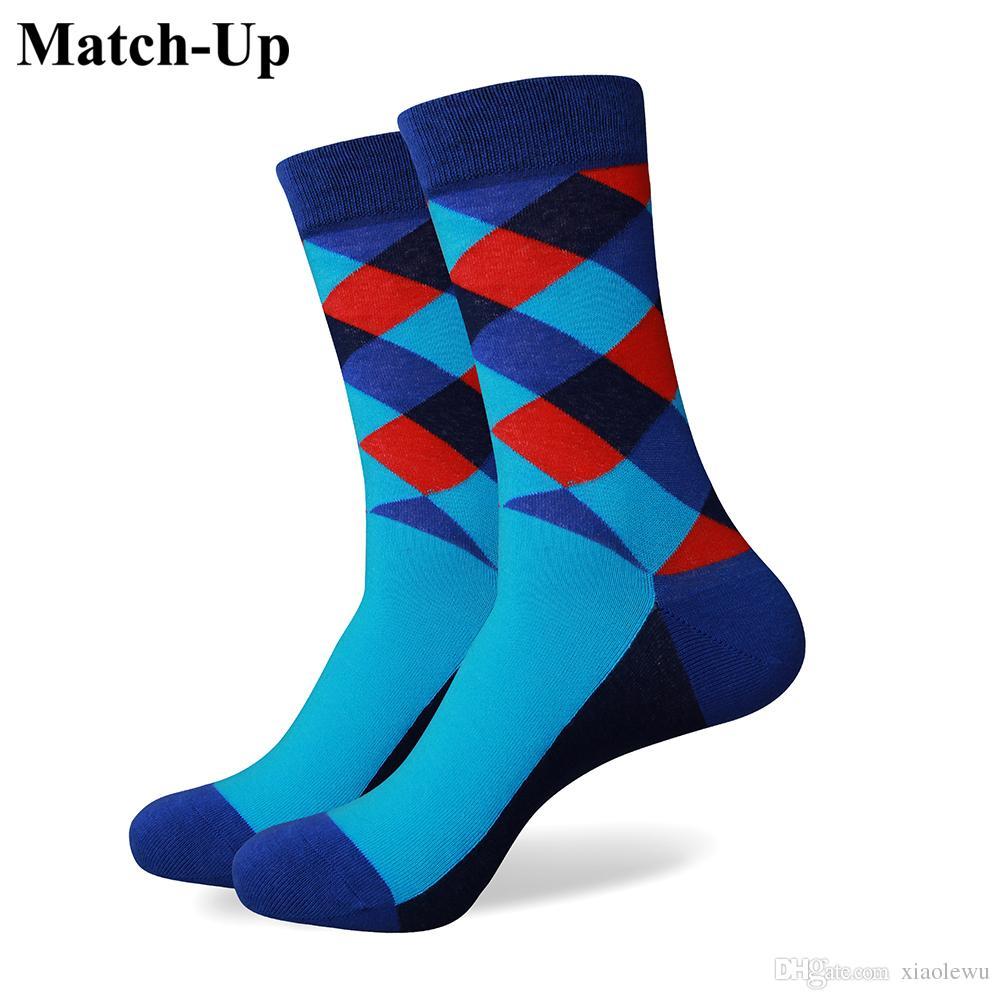 2016 nouveau style tous les hommes de coton chaussettes colorées marque homme chaussettes, chaussettes hommes, chaussette de coton Livraison gratuite 265
