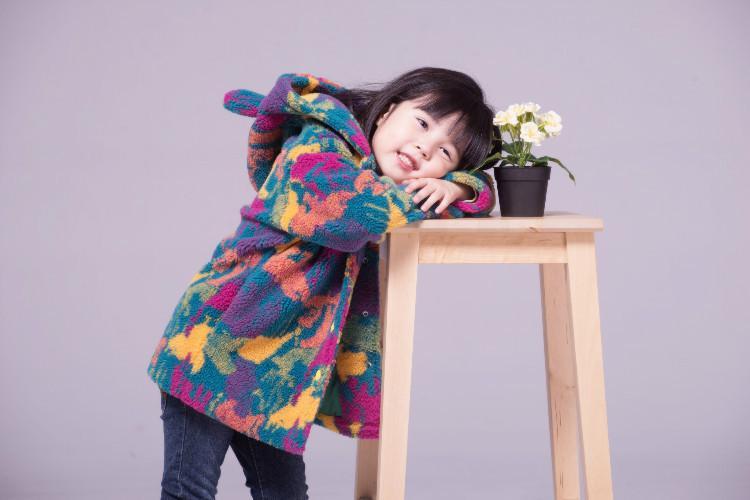 KEAIYOUHUO 2017 Winter Mädchen Jacke Kinder Warme Camouflage Fleece Mantel Kinder Oberbekleidung Infant Mädchen Mantel Jacke Für Mädchen Kleidung