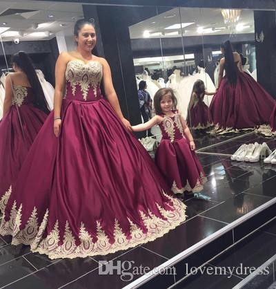 2019 Plus Size Brautkleider Gold Applique Liebsten Lace-up Open Back Brautkleid Party Brautkleider Nach Maß Hohe Qualität