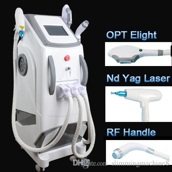 Multifunctional beauty machine Elight Skin Rejuvenation RF skin lifting Slimmingr opt shr hair removal Beauty Machine CE approved