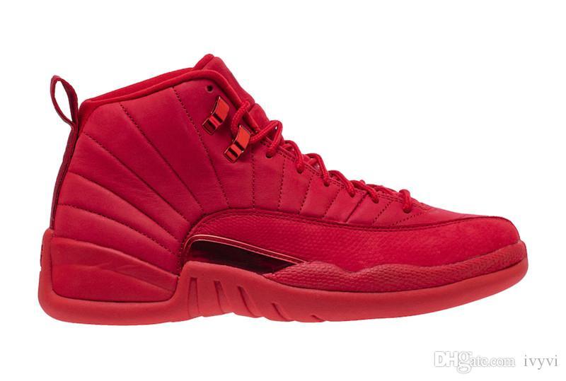 2018 Yayın Sneakers 12 Bulls Adam 12 s Basketbol Ayakkabıları Orijinal Kutusu Ile Gerçek Karbon Fiber Sneaker Gelin 130690-601