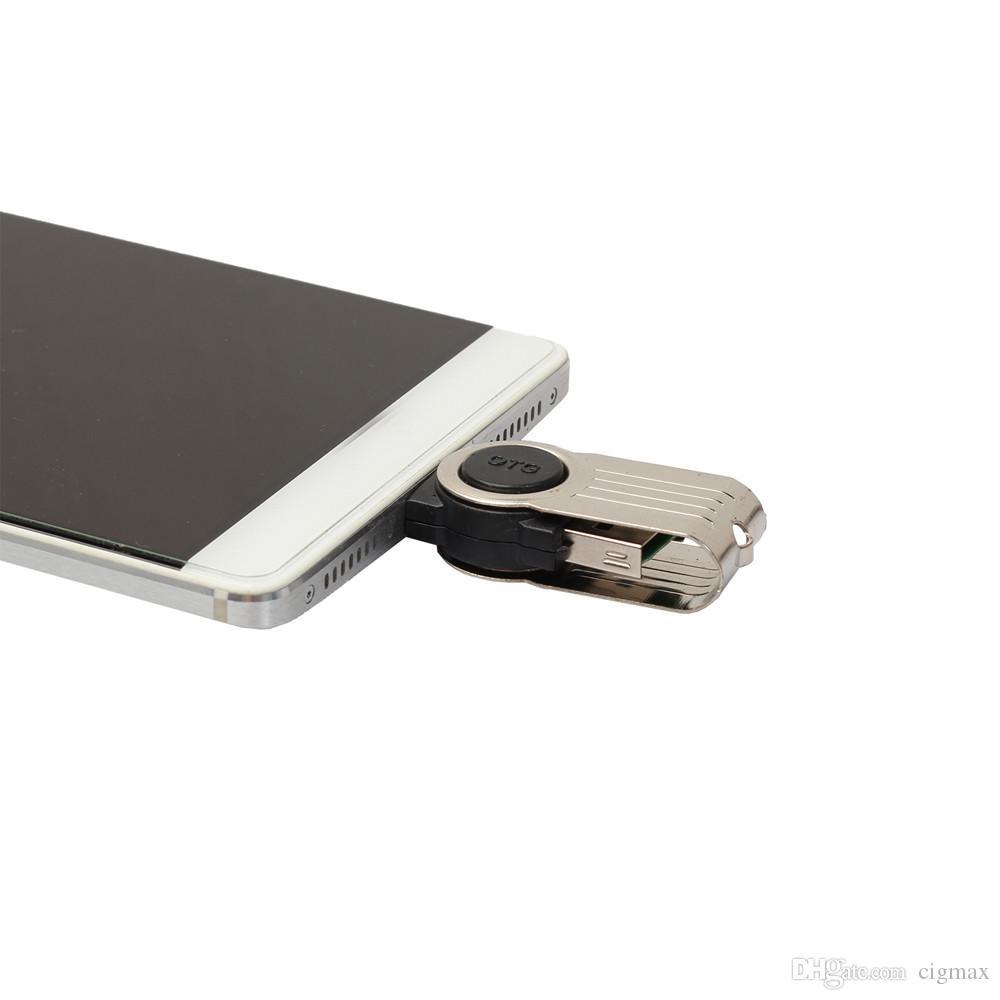 Adattatore per lettore di schede Micro TF Micro USB a USB 2.0 Micro SD per Android Phone Scheda di memoria intelligente per accessori per laptop
