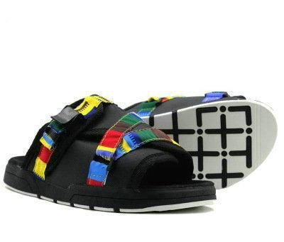 23 renk Moda Saçak Erkek kadın Tuval Terlik Erkek Yaz ayakkabı Slaytlar kaymaz plaj terlik Çevirme sandalet 36-45
