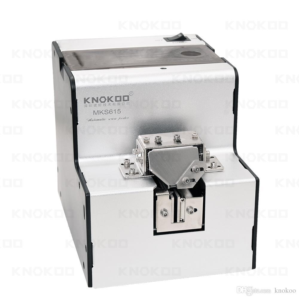 Подсказки knokoo MKS615C автоматическая гибкая шнековый питатель с счетчик применяется для различных размеров винтов от М1.0~М5.0
