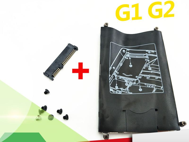 Freeshipping New Hard Drive HDD Caddy & Connector For HP EliteBook 820 720 725 G1 G2 Laptop