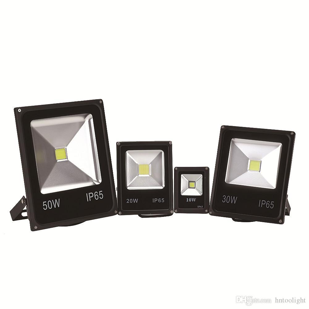 الصمام الكاشف 10W 20W 30W 50W في الهواء الطلق الأضواء الكاشفة ضوء AC 220V 240V للماء IP65 مصباح الإضاءة المهنية