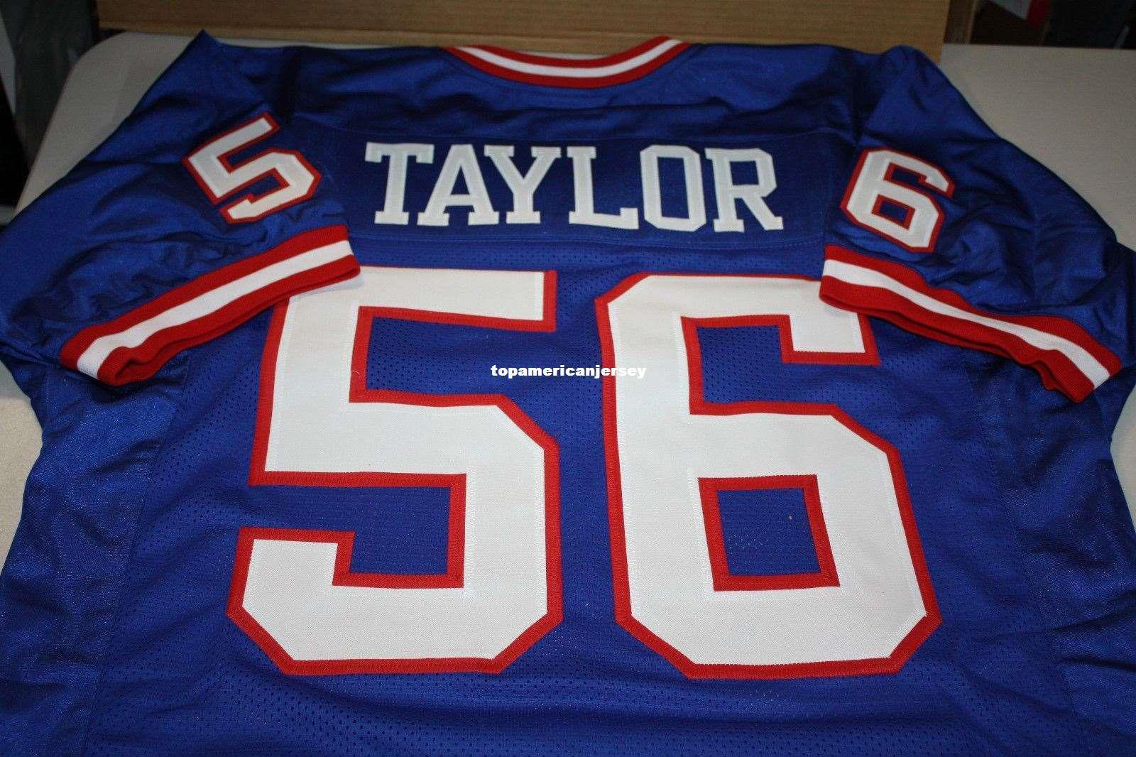2021 Cheap Retro #56 LAWRENCE TAYLOR CUSTOM MITCHELL & NESS Jersey ...