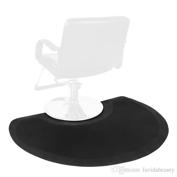 Good Quality Beauty Salon Semicircle Anti-fatigue Salon Mat Black Hair Products Beauty Equipment Free USA Shipping