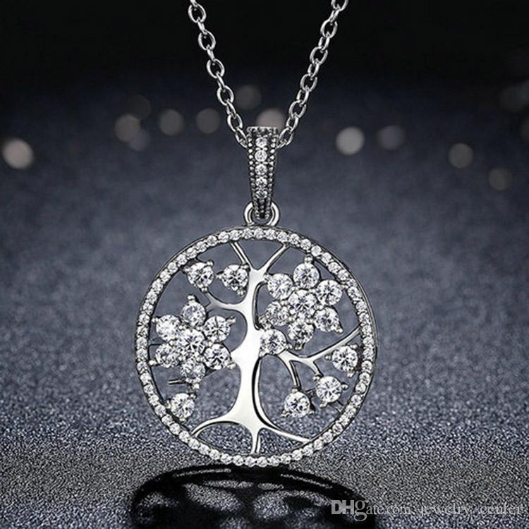 pandora collana cuore albero della vita