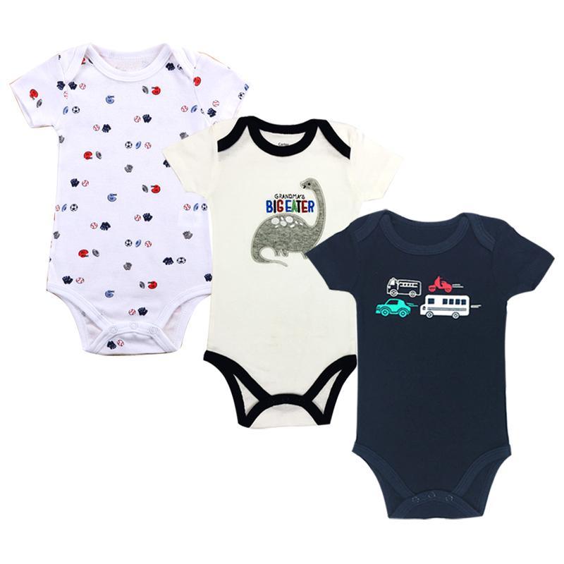 3X Newborn Infant Toddler Baby Girl Boy Romper Bodysuit Jumpsuit Sunsuit Clothes