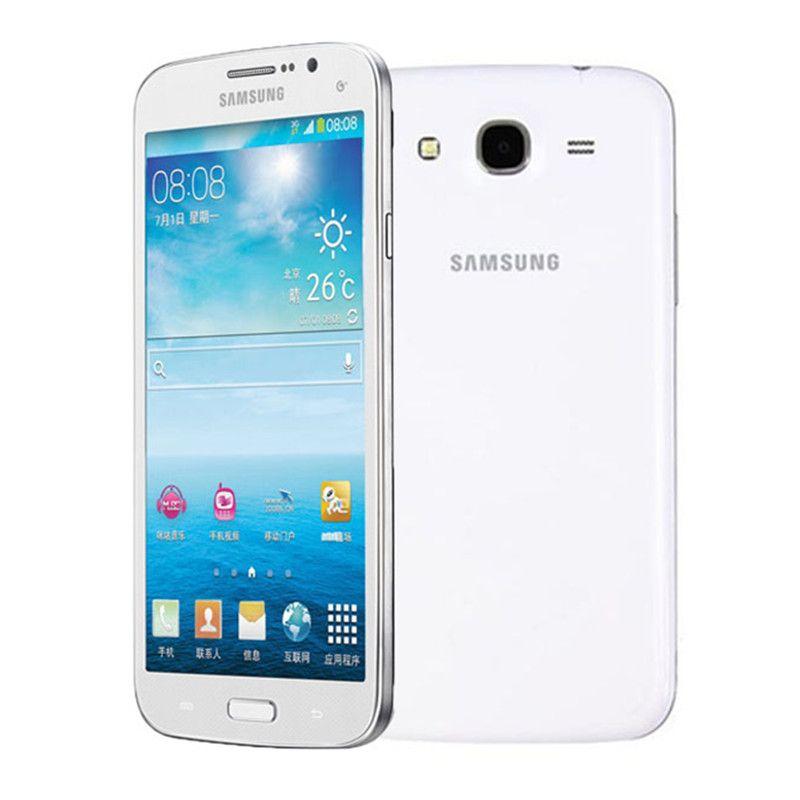 "Original Unlocked Samsung Galaxy Mega 5.8 I9152 Mobile Phone 1.5GB/8GB 5.8"" 8.0MP Refurbished cellphone no box only phone"