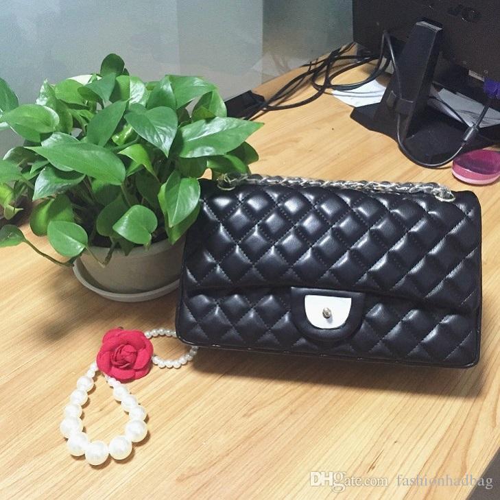 ÜST PU YENI Vintage Çanta Kadın çanta Çanta tasarımcısı kadın moda koyun derisi deri zincir çanta için çanta cüzdan omuz çantaları C55864