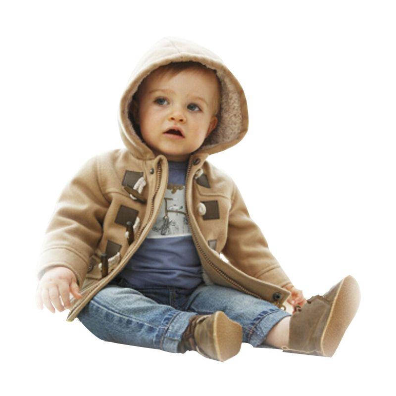 Niños bebés Niños prendas de abrigo abrigo Moda chaquetas de los niños para Boy Chaqueta de invierno Niños cálidos con capucha Niños Sudaderas niños Ropa