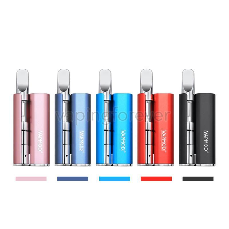 Vapmod магия 710 стартовые комплекты 380 мАч разогреть батарейный отсек мод испаритель 0.5 мл толстый масляный картридж керамическая катушка бак Vape ручка