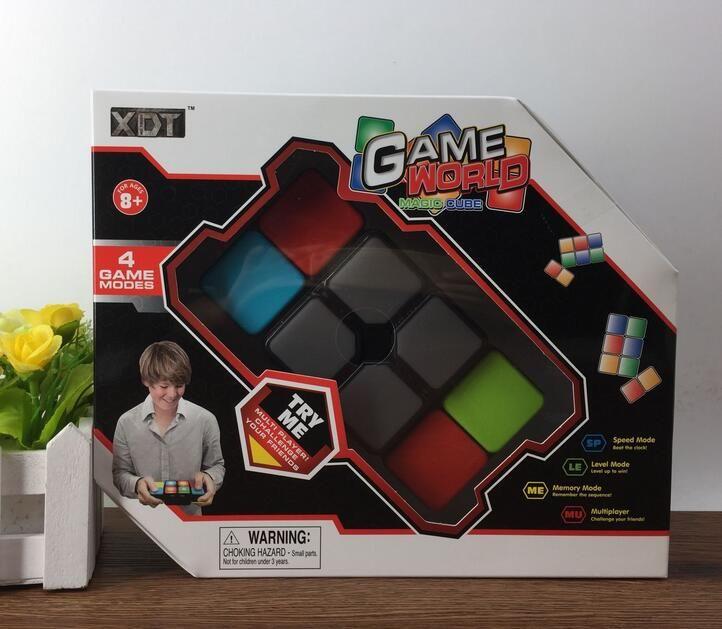 Мигающий музыка куб разнообразие магия для Куба бесконечность игрушка Spinner cubo непоседа флип образование мальчик Нео скорость электронный взрослый ребенок